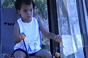 Watch a Three-Year-Old Operate a JCB Digger [VIDEO]