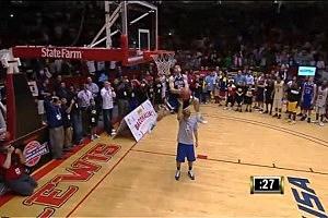 Jacob Tucker Wins NCAA Slam Dunk Tournament [VIDEO]