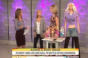 Life-Size Barbie Has a Shocking Look [VIDEO]