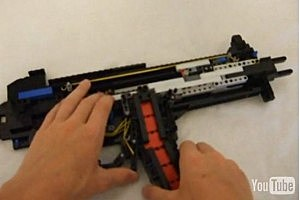 Check Out This Lego Sub-Machine Gun That Shoots Lego Bullets