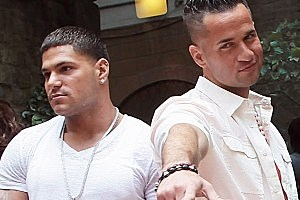 'Jersey Shore' Stars in Fist-Fight in Italy