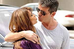Simon Cowell, Paula Abdul Reunite for 'X Factor Auditions'